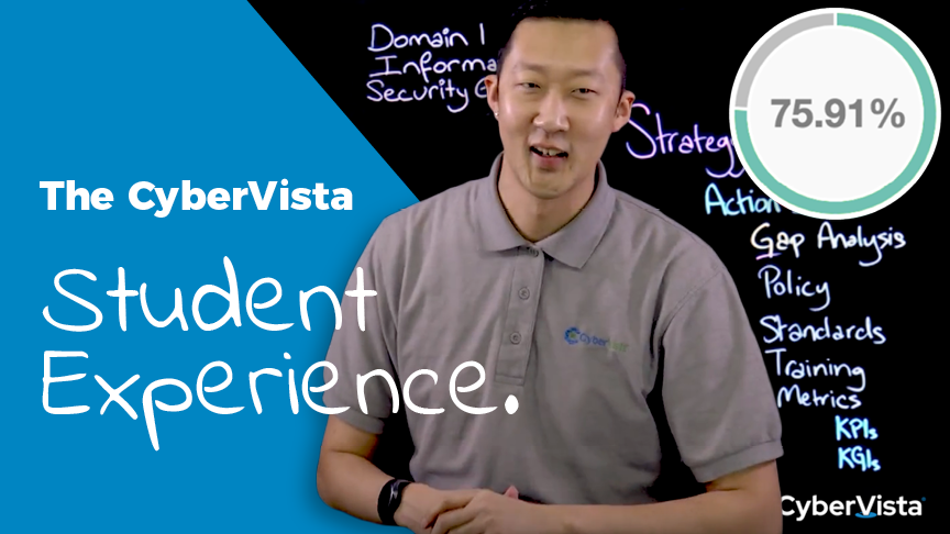 The CyberVista Student Experience