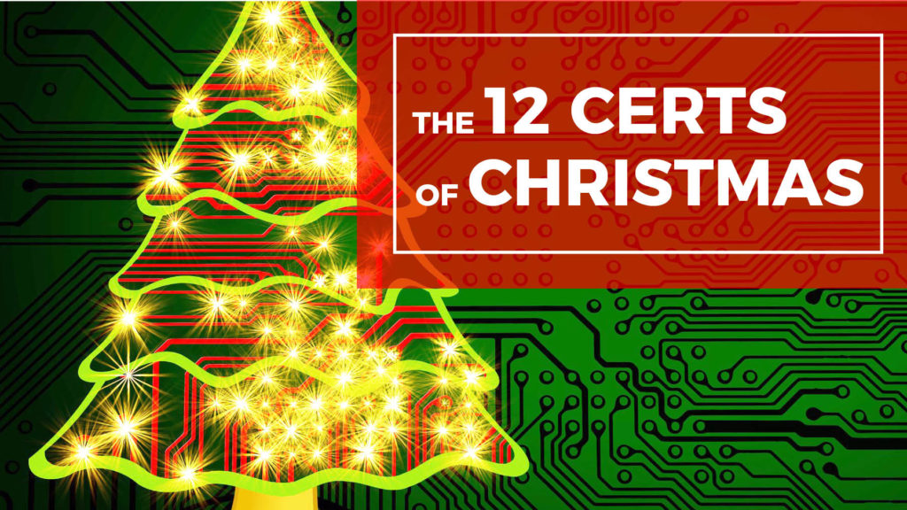 The 12 Certs of Christmas